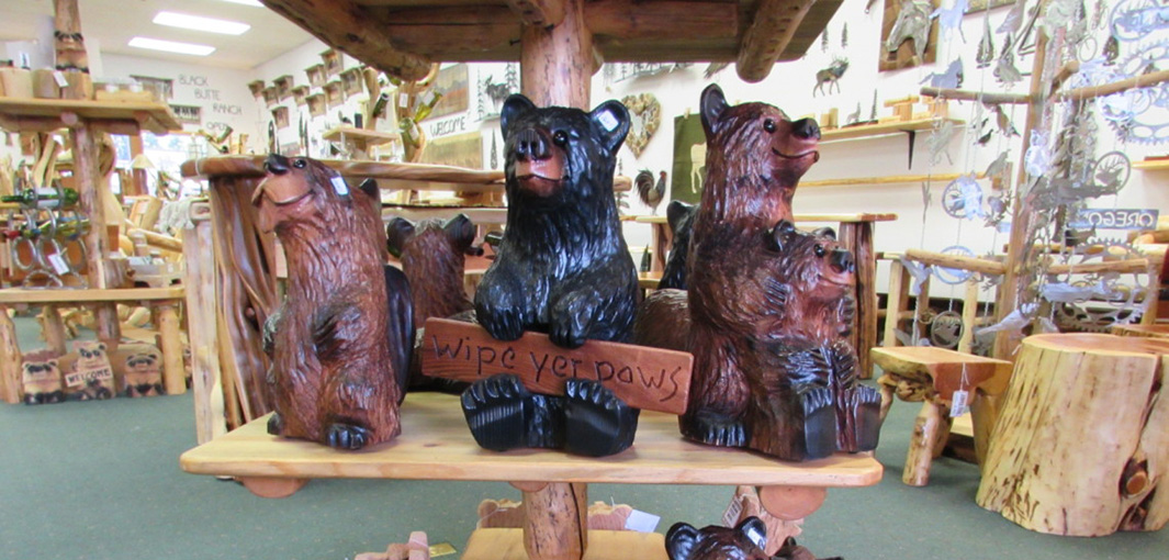 Carved Bears Welcoming