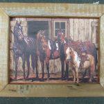 24 Horses at Barn box