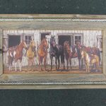 24 Horses at Barn print