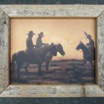 3 Cowboy Sunset box