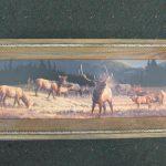 55 Elk at Dawn print