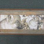 78 Wolf Pups print
