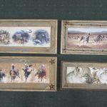 Rustic Cedar Frame Prints