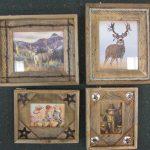 Rustic Cedar Frames