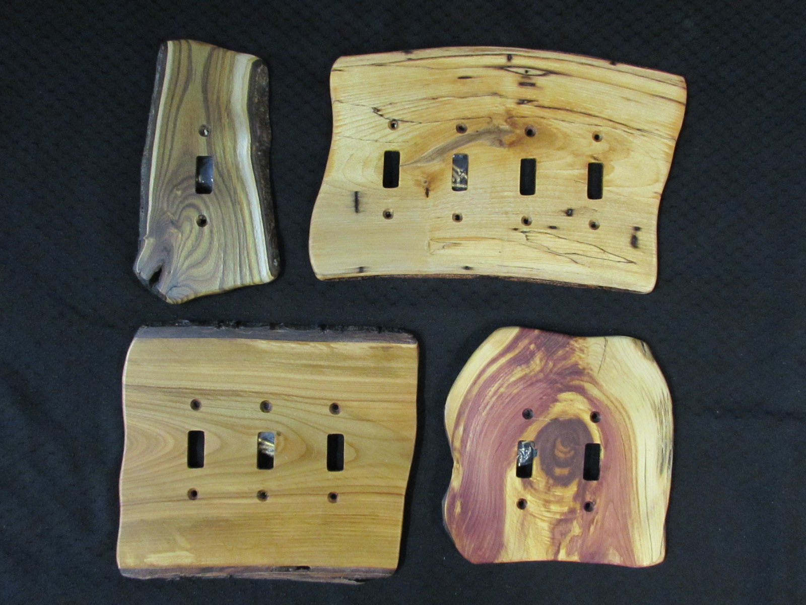 Wood Switch Plate Covers Prepossessing Wood Switch Plate Covers  Sisters Log Furniture Decorating Inspiration