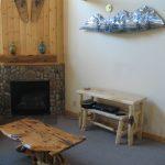 Juniper Coffee Table, Metal Art and Sofa Table