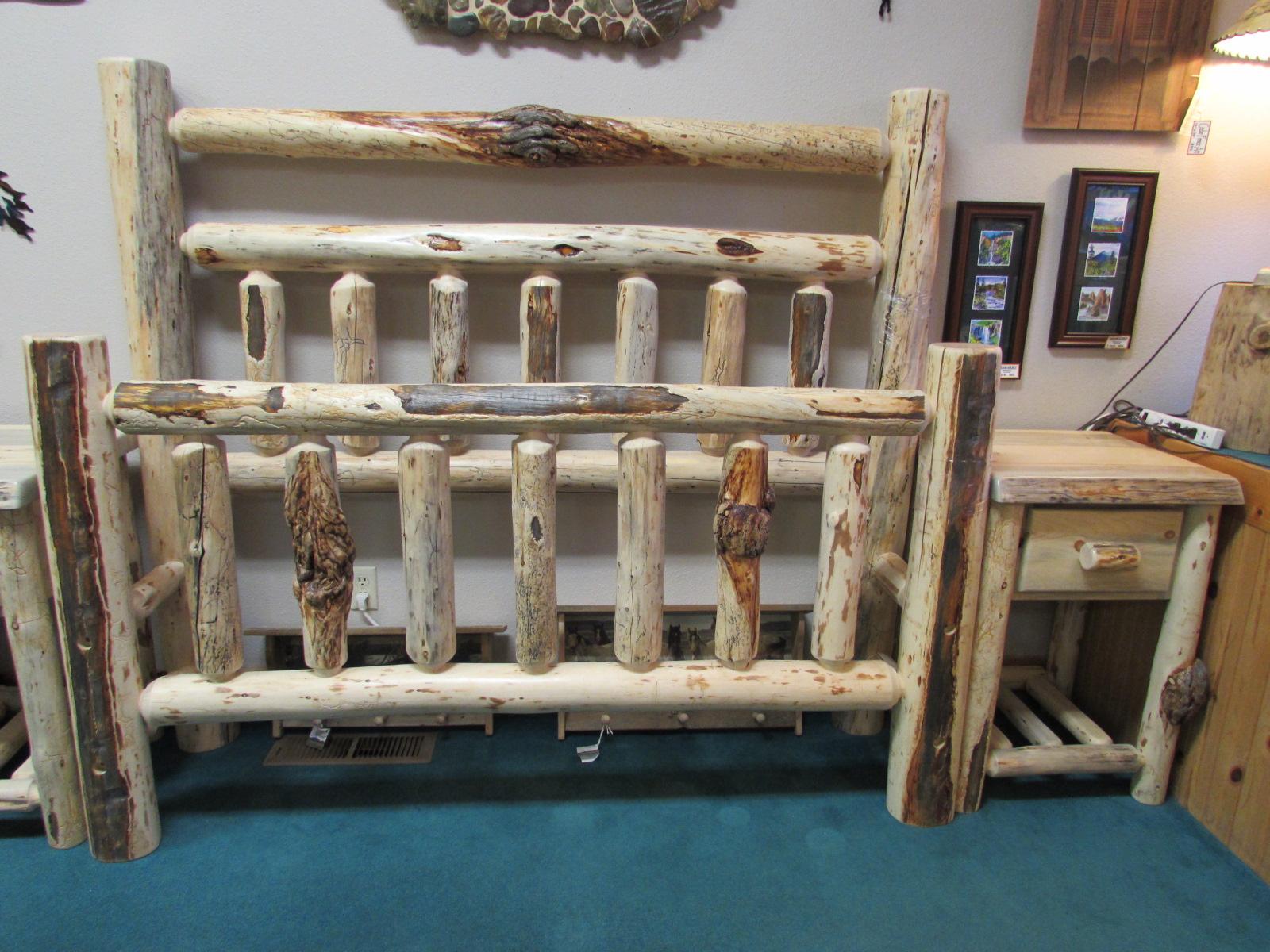 Log Furniture Bedroom Sets Blue Pine Bedroom Set Sisters Log Furniture