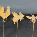 Rooster, Flying Pig, Bee