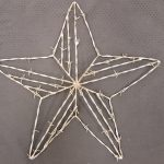 3-D Barbed Wire Star