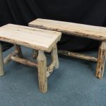 Rustic Pine Benches