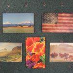 Sm Cedar Art Post Cards a