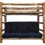 Glacier Twin/Full Futon Bunk Bed