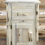 Cascade Nightstand w/ Drawer & Door
