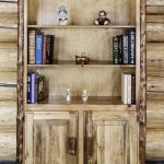 Glacier Bookcase w/ Storage