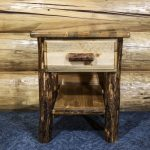 Glacier 1 Drawer Nightstand