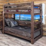 Homestead Twin/Twin STAINED Bunk Bed