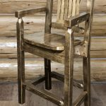 Homestead Captain's Barstool STAINED