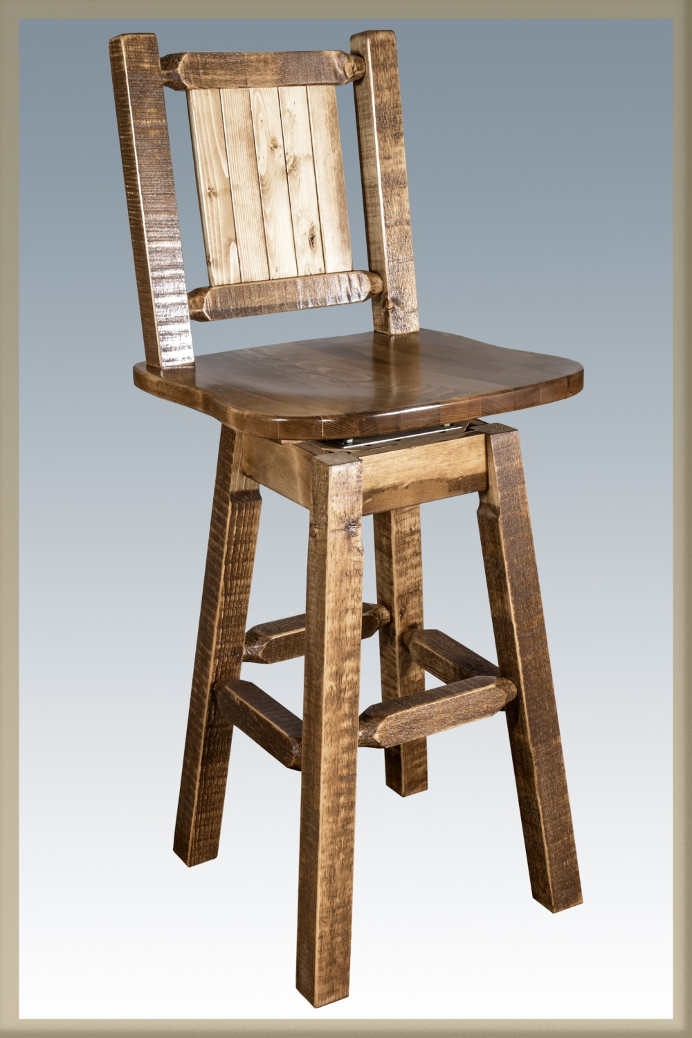 Pleasant Pine Barstools W Back Swivel Caraccident5 Cool Chair Designs And Ideas Caraccident5Info