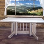 Homestead Double Pedestal Base Dining Table