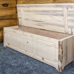 Cascade Blanket Chest OPEN