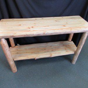 Rustic Pine Sofa Tables Sisters Log