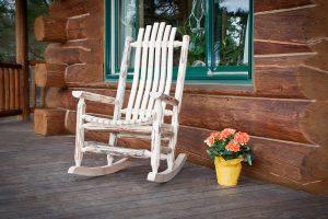 Cascade Rocking Chair (Clear)