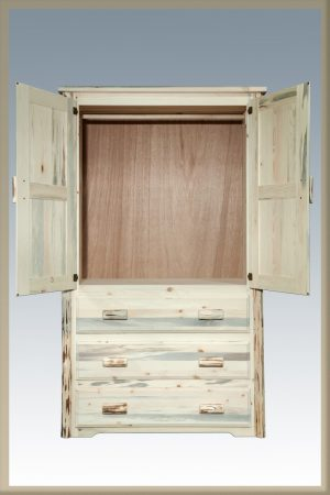 Cascade Armoire- OPEN (Clear)