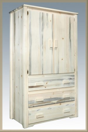 Homestead Armoire (Clear)