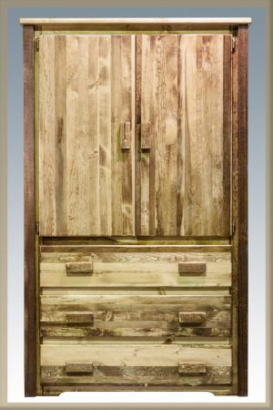 Homestead Armoire (Stained)
