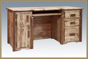 Homestead Computer Desk (Stained)
