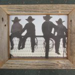 34 Cowboys on Fence box