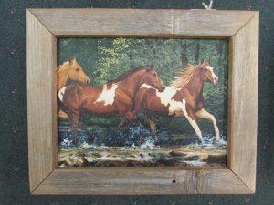47 Horses in Creek box