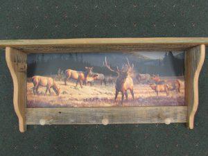 55 Elk at Dawn peg