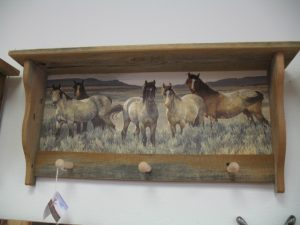 56 Horses in Sage peg