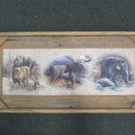 61 Moose Bear Deer print
