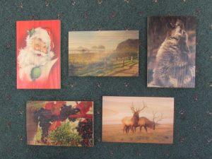 Cedar Art Post Cards c