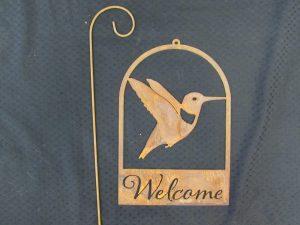Rusty Welcome Hummingbird