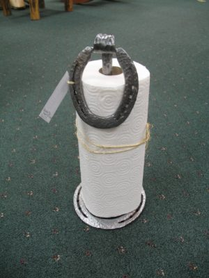 Horseshow Counter Top Paper Towel Holder