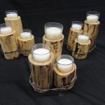 Ranch Style Candle Holders