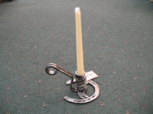 Taper Candle with Handle