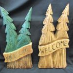 Welcome Banner Trees
