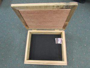 Cedar Box Inside