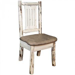 Cascade Dining Side Chair Buckskin (Clear)
