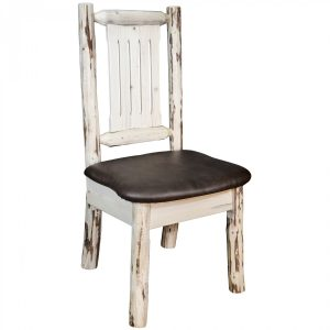 Cascade Dining Side Chair Saddle (Clear)