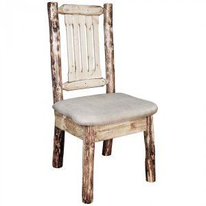 Glacier Dining Side Chair Buckskin