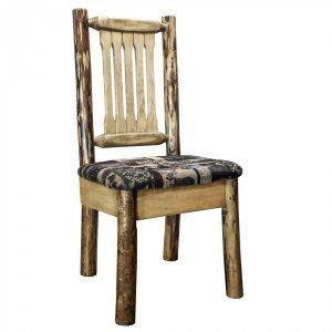 Glacier Dining Side Chair Woodland