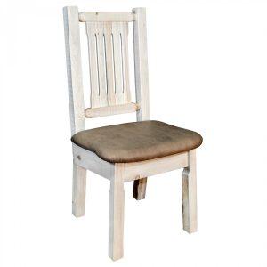 Homestead Dining Side Chair Buckskin (Clear)