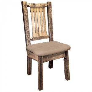Homestead Dining Side Chair Buckskin (Stained)