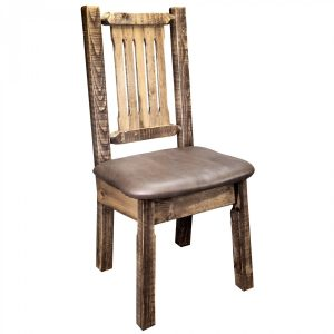 Homestead Dining Side Chair Saddle (Stained)