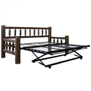 HC Day Bed w Trundle (Stained)